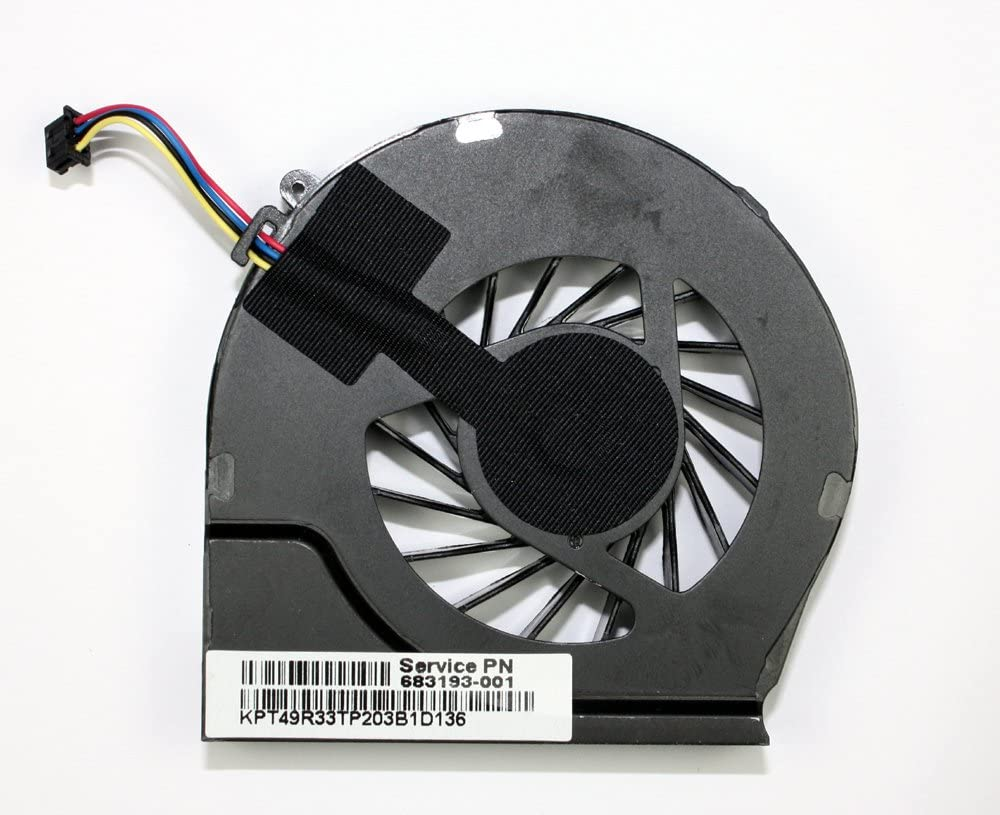 Power4Laptops Replacement Laptop Fan 4 Pin Version for HP Pavilion G6-2291EA, HP Pavilion G6-2291NR, HP Pavilion G6-2291SA, HP Pavilion G6-2292EA, HP Pavilion G6-2292NR