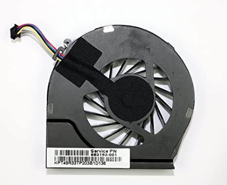 Power4Laptops Ventilador para Ordenadores portátiles 4 Pin ...
