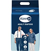 """Kare In Adult Diapers Large 10's Pack to Fit, 101-139cm (40""""- 55"""")"""