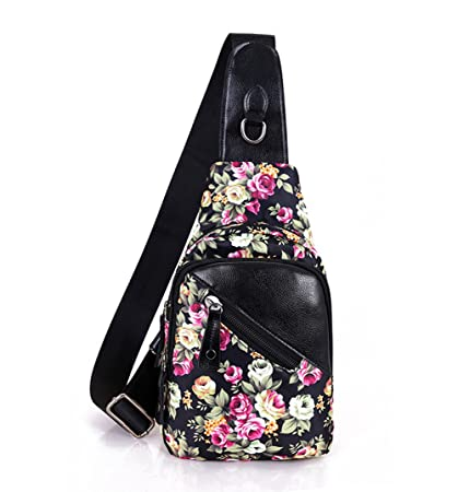 Amazon.com  Sling Bag Chest Unbalance Shoulder Backpack 6a9f6aa319032