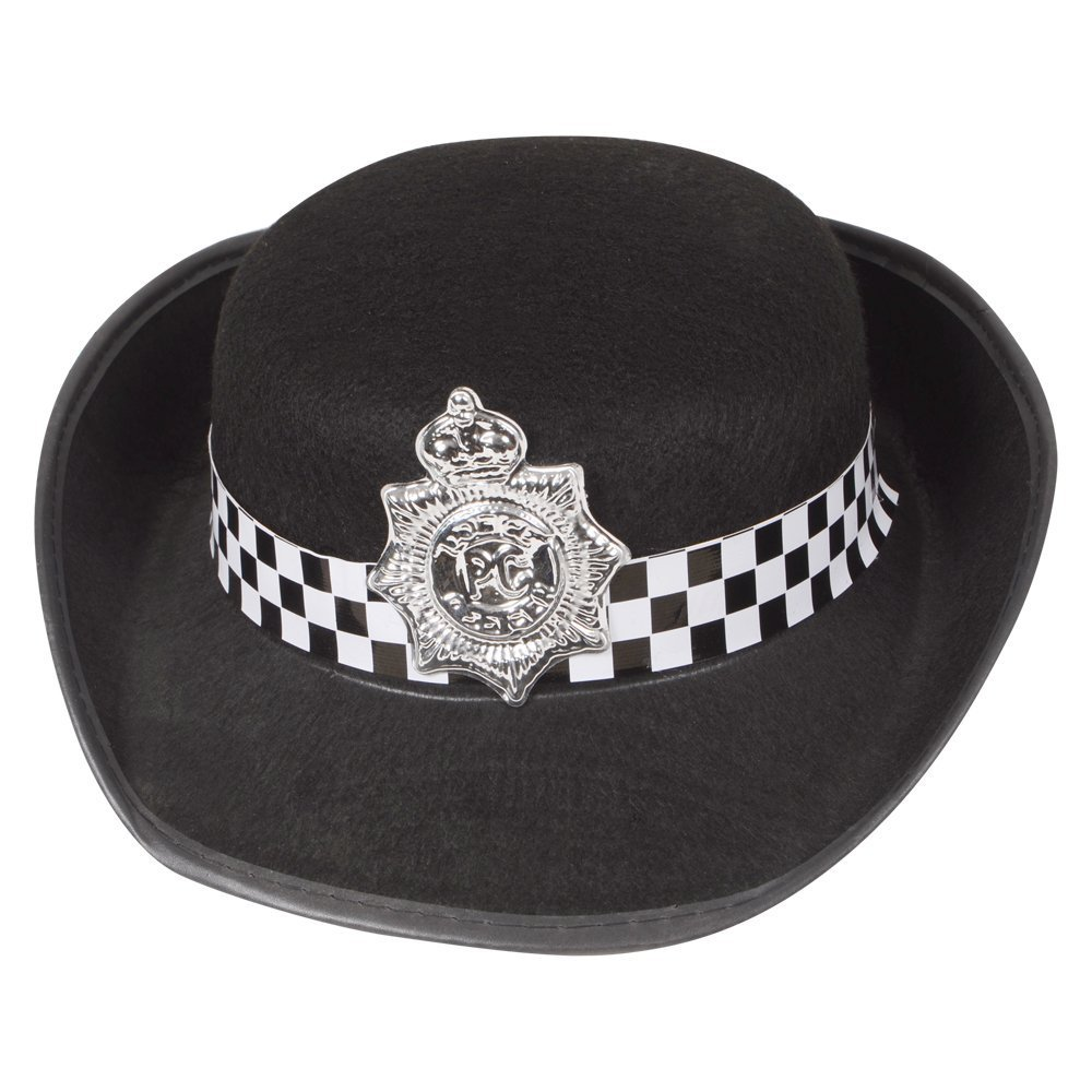 WPC Hat Outfit Accessory for Police Cops Fancy Dress