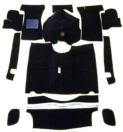 Amazoncom Newark Auto 62 80 Triumph Spitfire Black Loop Carpet Kit