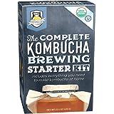 The Complete Kombucha Brewing Starter Kit | Fermentaholics USDA Certified Organic Kit (The Complete Kombucha Brewing Starter
