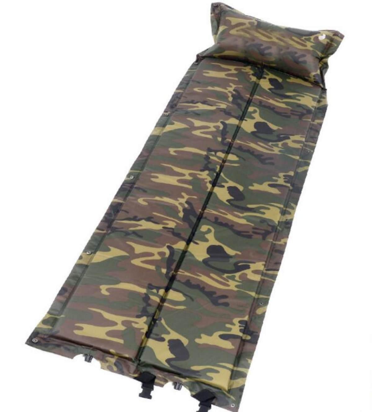 Automatische Aufblasbare Matte Mit Kissen Aufblasbare Bett Lunch Pyjamas Zelt Moisture Pad,A4