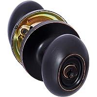 AmazonBasics Perilla, ovalado, color bronce aceitado