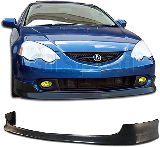 Primed and Ready for Paint New Front Plastic Bumper Cover Fascia For 2002-2004 Acura RSX Base Type S Coupe 02-04 AC1000143 04711S6MA90ZZ With Fog Light Holes