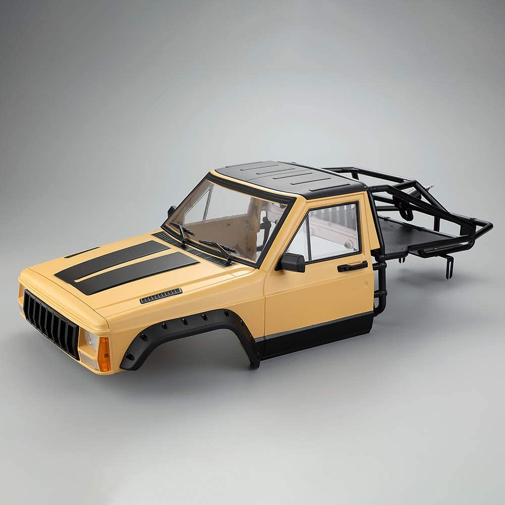 YTGOOD RC Car Cherokee Body Cab & Back-Half Cage 313 mm ...