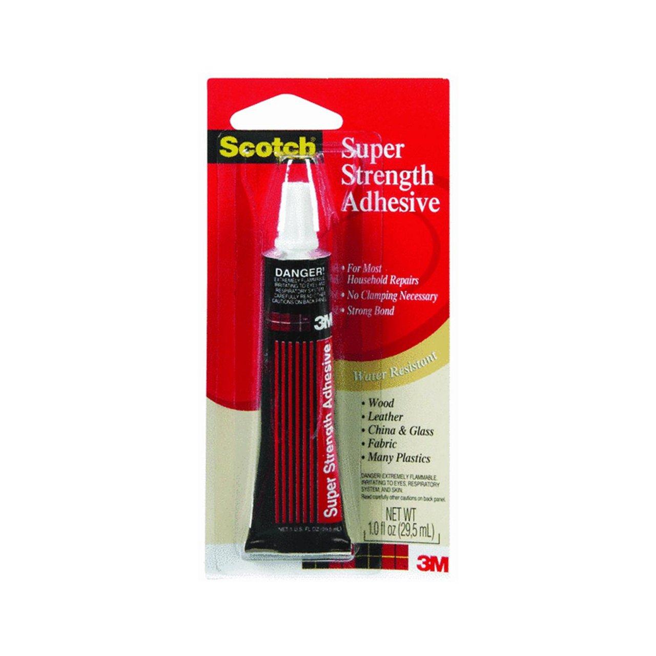 3M Scotch 6004 Super Strength Adhesive, 1 oz Tube