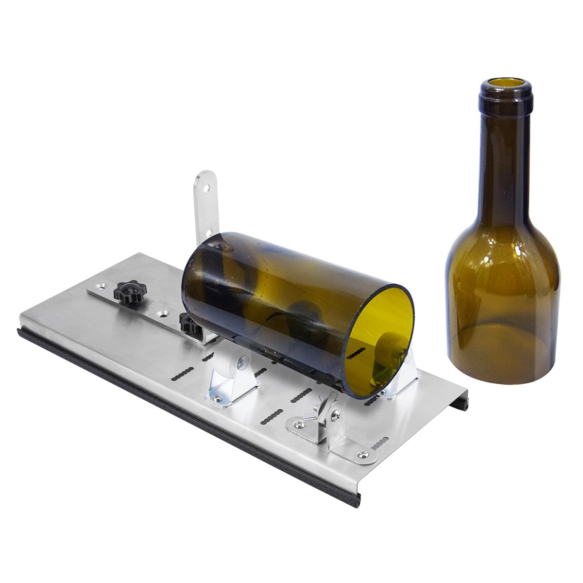 Glass Bottle Cutter,Adjust full sized Bottle Cutter DIY Cutting Machine Wine Bottles and Beer Bottles Cutting Tool (Advanced) DARPIL 4336850016