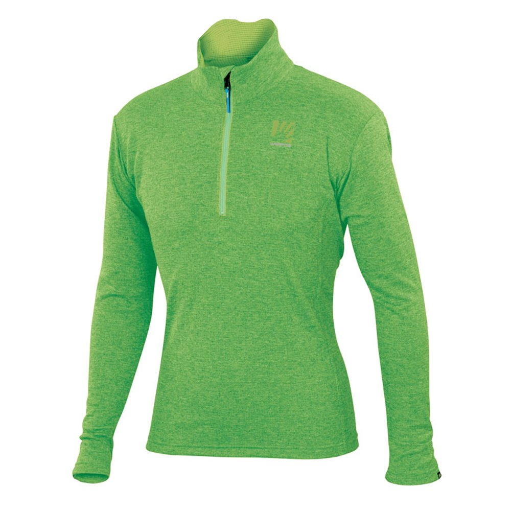 Karpos Pizzocco Half Zip - Apple Grün