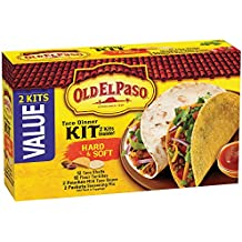 Old El Paso Hard & Soft Taco Dinner Kit 21.2 oz Box