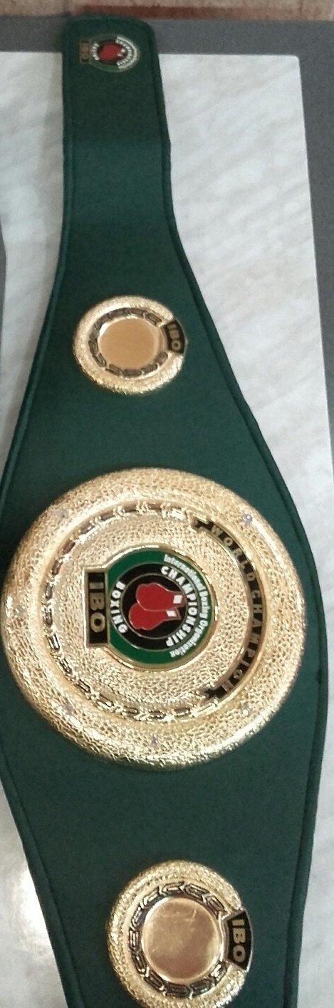 Amazon.com: Ibo boxeo cinturón cinturón de réplica de ...