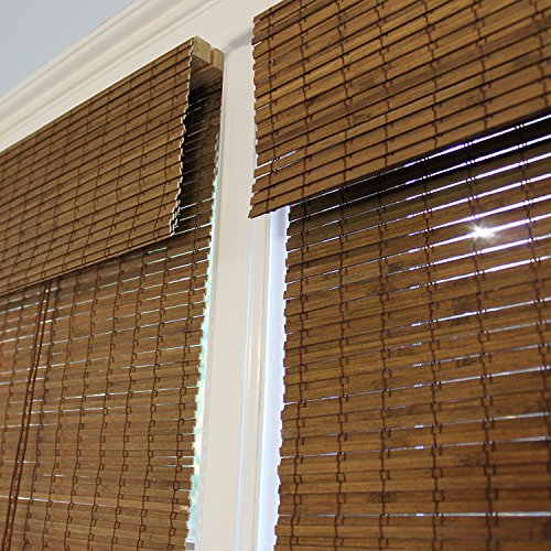 Radiance 0216200 Cape Cod Bamboo Roman Shade With Valance