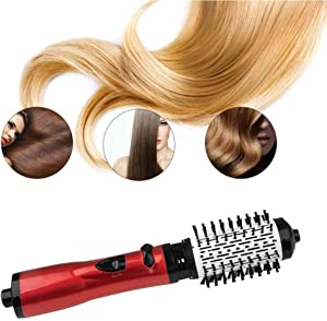 Hot Air Styler, Frizz Ease Volume Shine Curling Wand Automatic Ceramic Curling Iron Machine Curling Hair Auto Rotating Styling Three Heating Options,220v