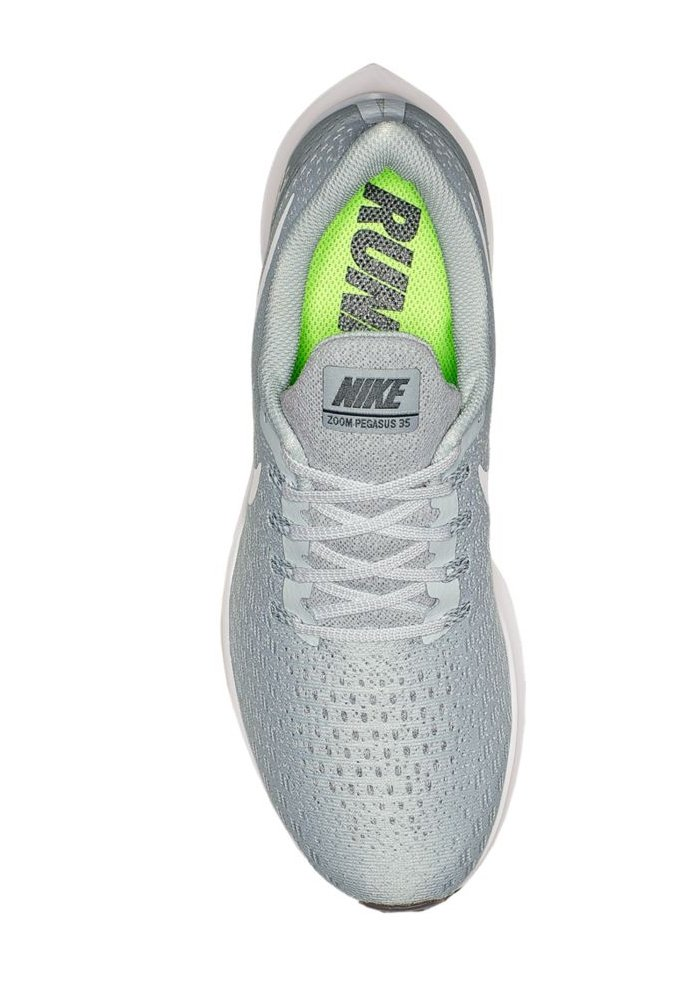 Nike Men's Air Zoom Pegasus 35 Running Shoe Pure Platinum/White/Wolf Grey 6 M US by Nike (Image #3)