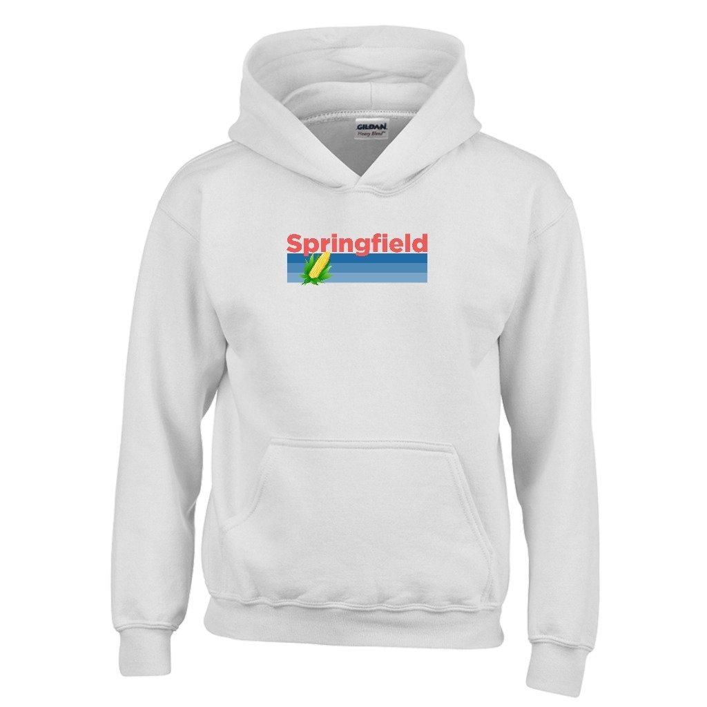 Springfield Retro Corn /& Farm Youth Hoodie Illinois Kids Sweatshirt