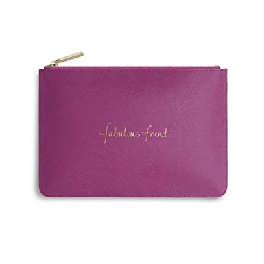 Katie Loxton Perfect Pouch Fabulous Friend Cerise Pink One