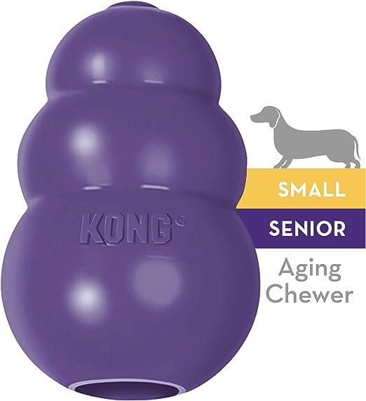 KONG JU03135 Senior Morado Pequeño: Amazon.es: Productos para mascotas