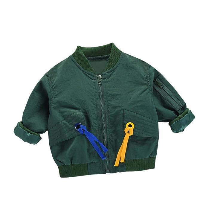 KOLY Abrigos Chaquetas para Niñas Niño Bebés Chaquetas con Capucha de Otoño Invierno Algodón Tren de