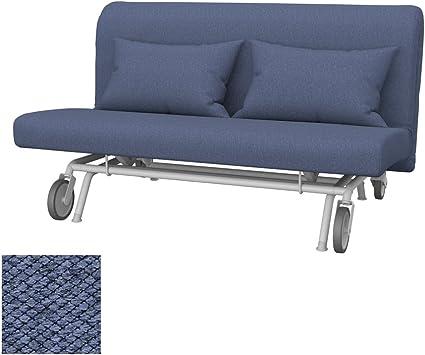 Divano Letto Ps Ikea.Soferia Fodera Di Ricambio Per Ikea Ps Divano Letto A 2 Posti Tela Nordic Denim Blu Amazon It Casa E Cucina