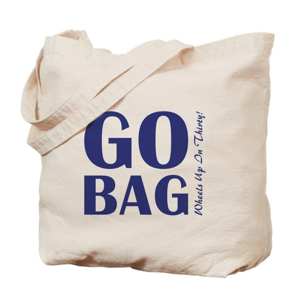CafePress – go-bag – ナチュラルキャンバストートバッグ、布ショッピングバッグ B06Y1728QM