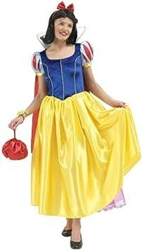 Disfraz de Blancanieves Disney Adulto: Amazon.es: Juguetes y juegos