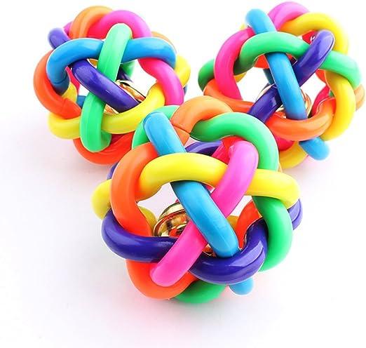 Pelotas de tejer coloridas para gatos y perros, bolas de colores ...