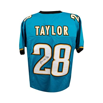 Autographed Collectibles Fred Coa Football Jsa Jacksonville Sports - At Amazon's Store Jaguars Taylor Jersey Custom