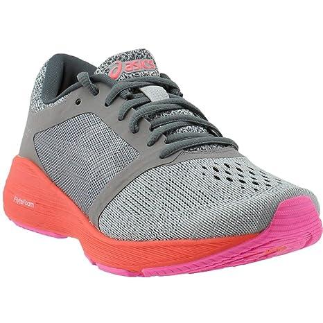 a2cfaa64ff77 ASICS Roadhawk FF Women s Shoes Carbon Silver Coral, Running ...