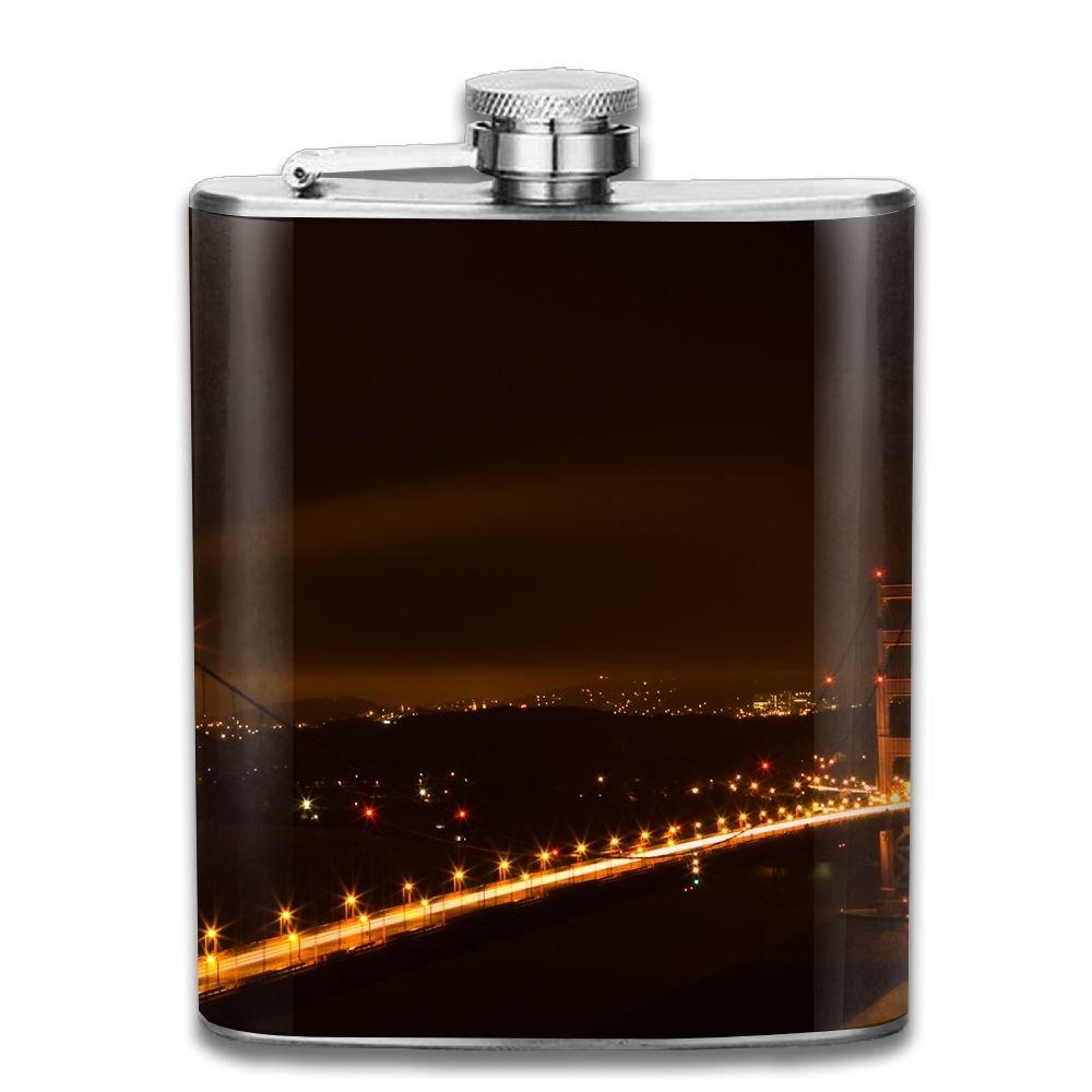 【逸品】 jf-x San Francisco BridgeステンレススチールヒップフラスコPersonalised Liquor Liquor WiskeyワインポットFlagon Francisco B07CV6JXC6 (7oz) B07CV6JXC6, ワールドインフォメーション:0531cae1 --- a0267596.xsph.ru