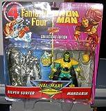 FANTASTIC FOUR/IRONMAN WALMART EXCLUSIVE 2 PACK
