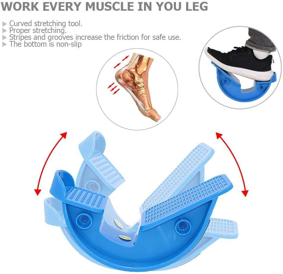 Foot Rocker Calf Ankle Stretch Board Achilles Tendinitis Muscle Massage Pedals