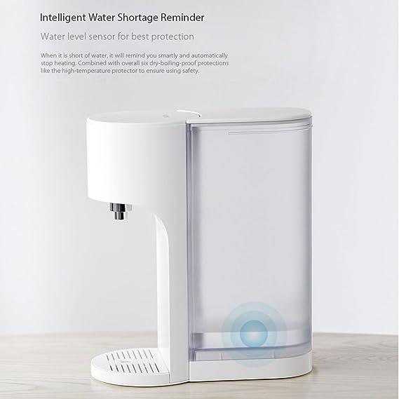 L&LQ App Control 4L Smart Dispensador De Agua Caliente Instantáneo Calidad De Agua Indes Baby Milk Partner Calentador Agua Potable Hervidor: Amazon.es