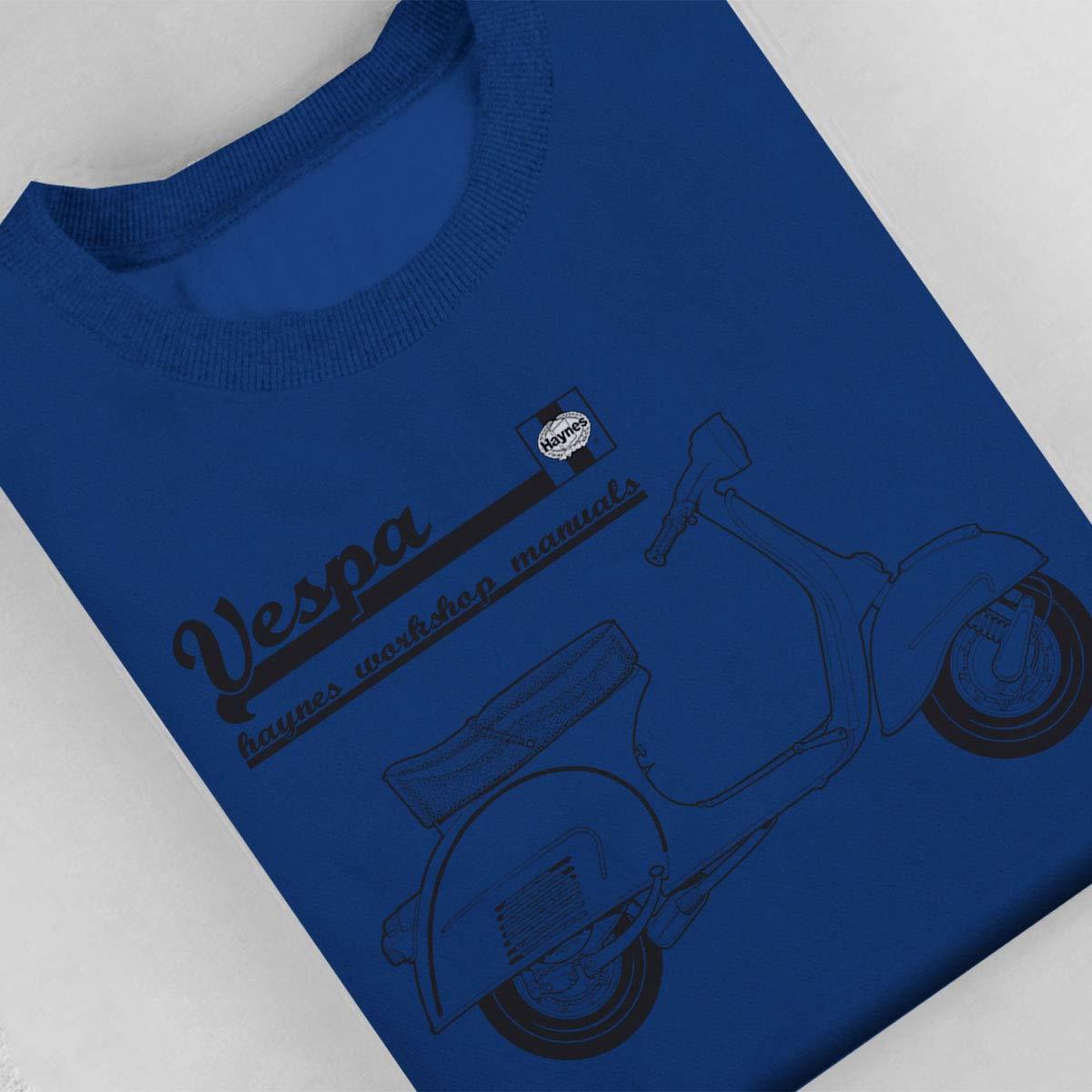 POD66 Haynes Owners Workshop Manual Vespa Mens Sweatshirt: Amazon.es: Ropa y accesorios
