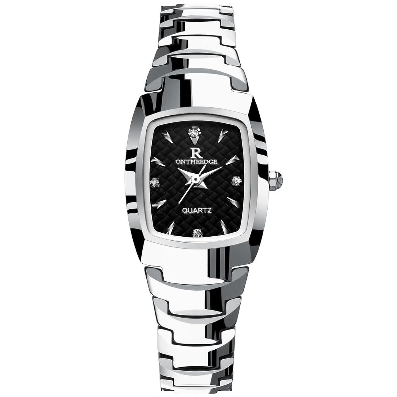 超薄型防水時計/ Ladies quartz watch /タングステンスチールバンドブレスレットwatch-b B06XJKC66W