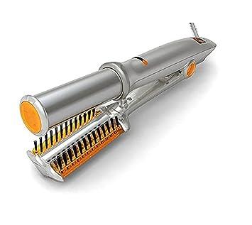 JFJL Rizador De Pelo Cerámica Control De Temperatura Rotación Hierro Tenacillas Y Plancha De Pelo Rizador De Pelo 2 En 1: Amazon.es: Deportes y aire libre
