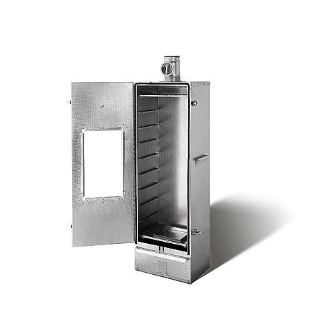 Aislado smoki – Horno para ahumar con Ventana de Acero Inoxidable V2 A 120 x 39
