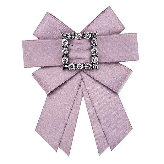 MIAOMIAOWANG Corbatas Corbata Mujeres Lindas exageradas Big-Name ...