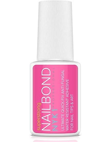 NYK1 - Adhesivo de pegamento para uñas superfuerte, con pincel, calidad profesional, ideal