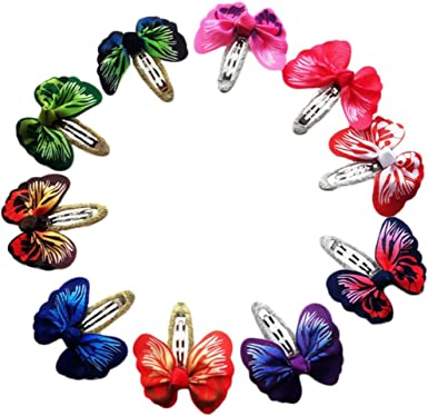 Shiny Metal Snap Hair Clips Hair Accessories Hairpins Barrettes For Baby Girls