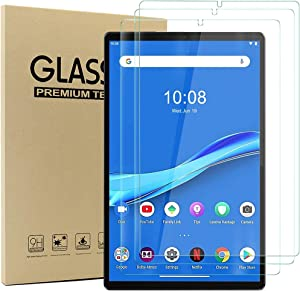 Acadeny [3 Pack] Compatible with Tab M10 Plus FHD 10.3 inch - Tempered Glass Screen Protector - [3D Round Edge][9H Hardness] [Crystal Clear][Scratch Resist],Clear