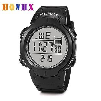 Multifuncional elegante estilo de vida saludable deportes relojes, Y56 - adolescentes niños Digital reloj deportivo militar 50 M impermeable LED reloj ...