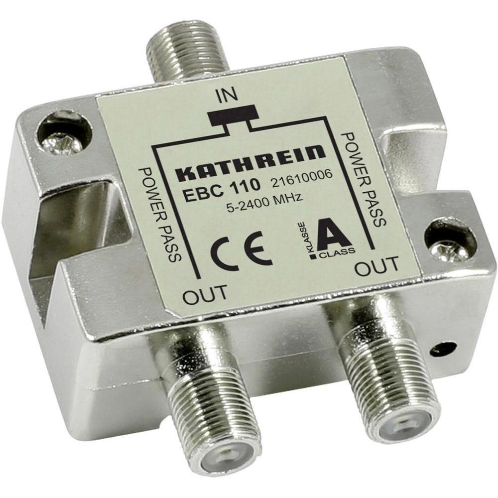 Kathrein EBC 110 Divisor de señal para cable coaxial Plata: Amazon ...