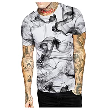 Camisetas Hombre Manga Corta Camisetas Casual Hombre AIMEE7 Camisetas Estampadas Hombres Camisetas Hombre Originales Camisetas Frikis Hombre Camisetas Moda ...