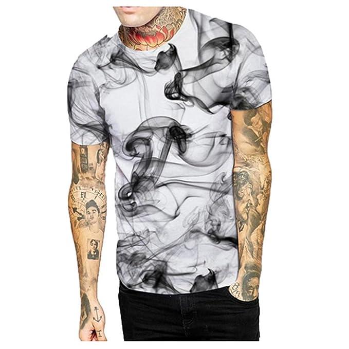 3d9cd5998269c Camisetas Hombre Manga Corta Camisetas Casual Hombre AIMEE7 Camisetas  Estampadas Hombres Camisetas Hombre Originales Camisetas Frikis Hombre  Camisetas Moda ...