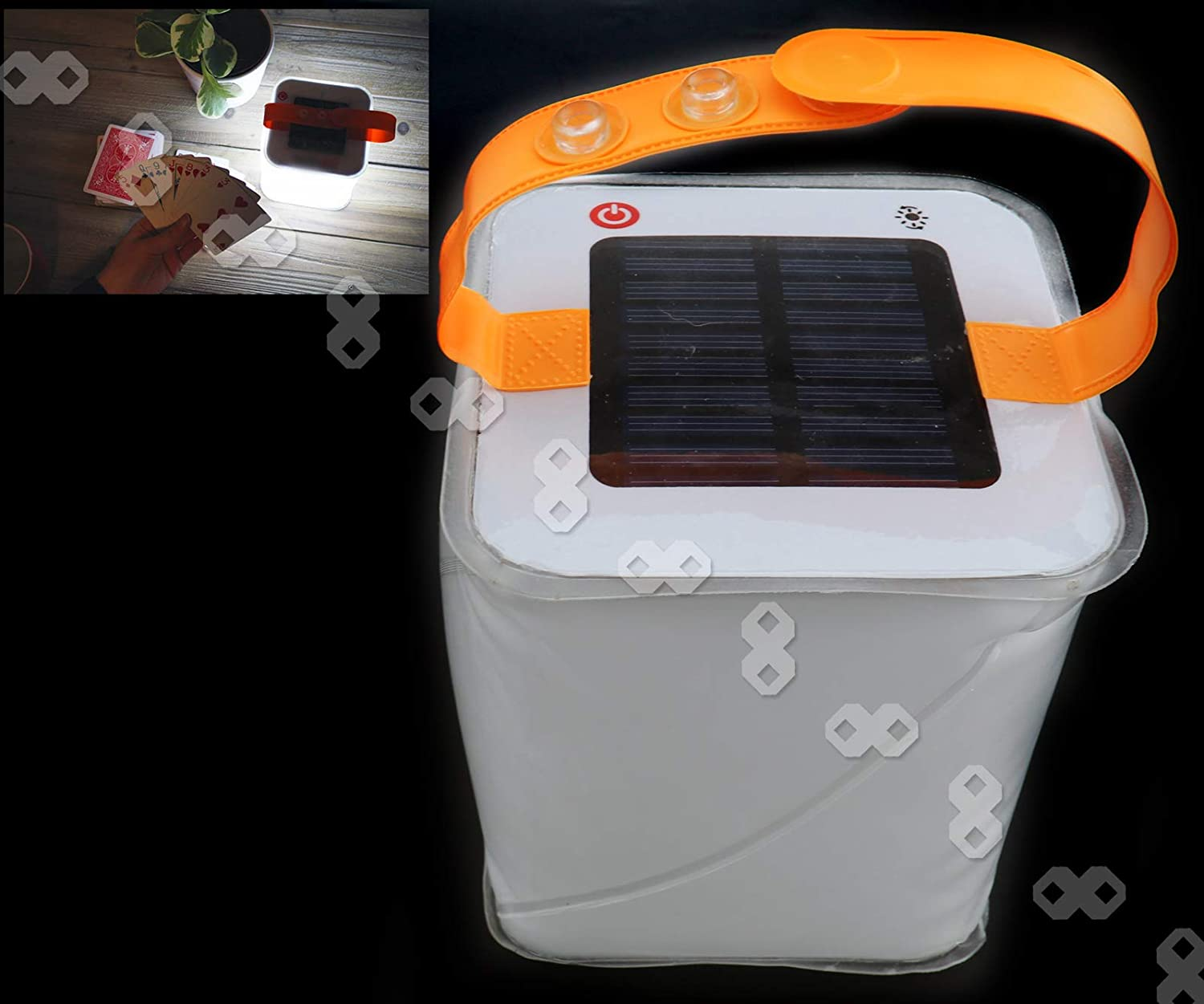 Lanterne solaire pliante LuminAID Packlite-Gonflable-150 Lumens Camping Light