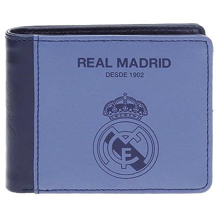 Real Madrid Blue RM Tarjetero, 10 cm, 0.09 litros, Morado ...