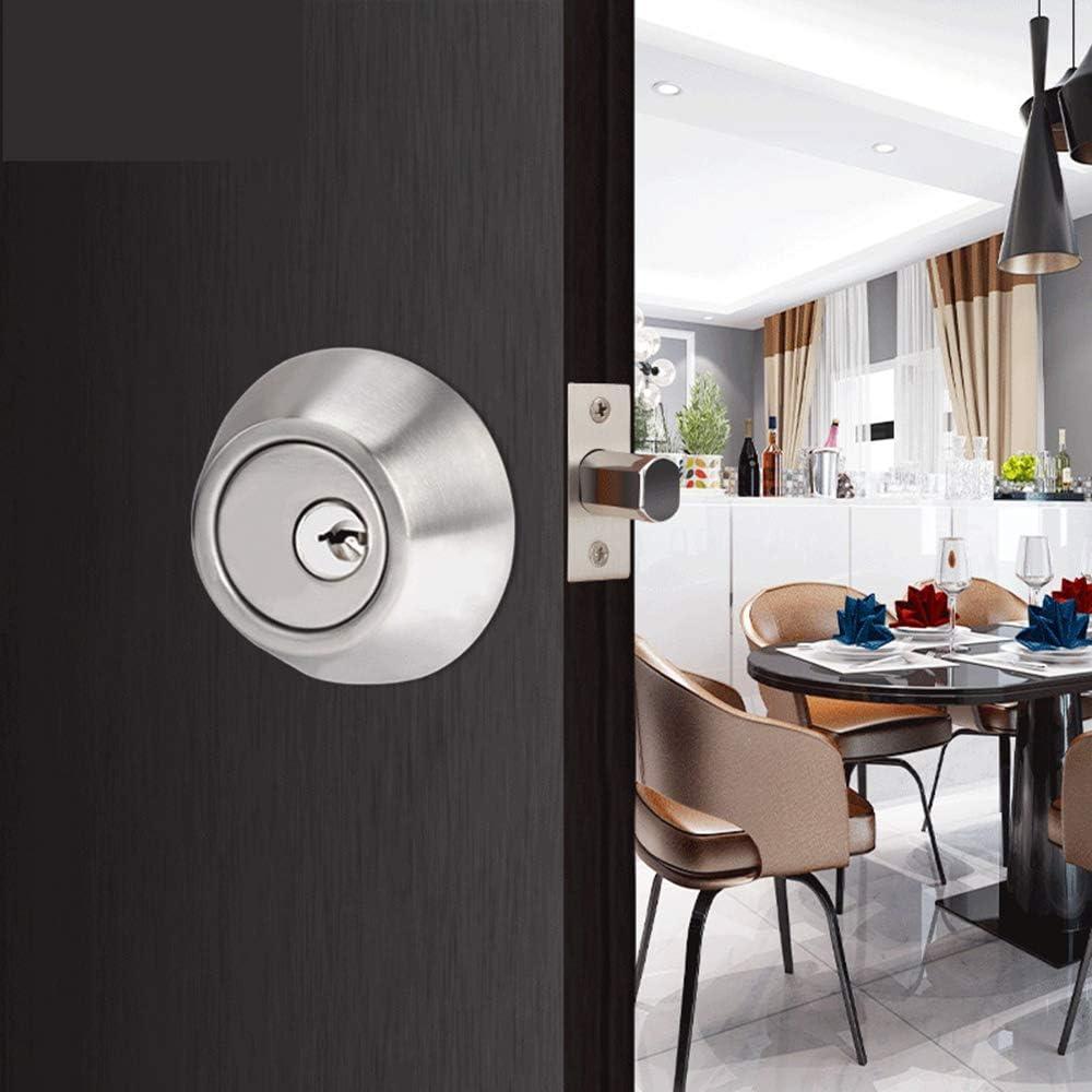 pomo de la puerta interior de privacidad con 3 llaves y cerrojos juego de cerraduras de las perillas de las puertas de entrada con llave vintage Cerraduras de las perillas de las puertas