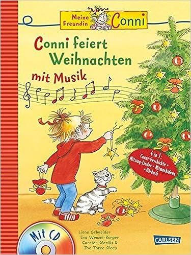 Cd Weihnachten.Conni Musicalbuch Conni Feiert Weihnachten Mit Musik Buch Mit Cd