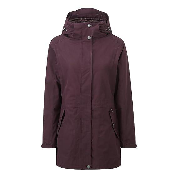 Tog 24 Sutton Womens Milatex 3 In 1 Jacket Dark Plum - Female:  Amazon.co.uk: Clothing